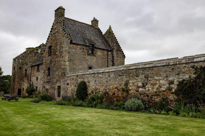 Aberdour castle Fife