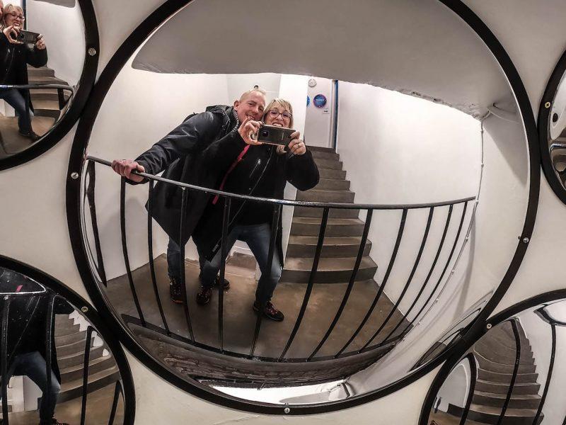 Specchi camera obscura Edimburgo