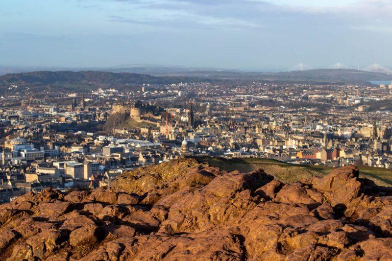 Arthur Seat Edimburgo Scozia