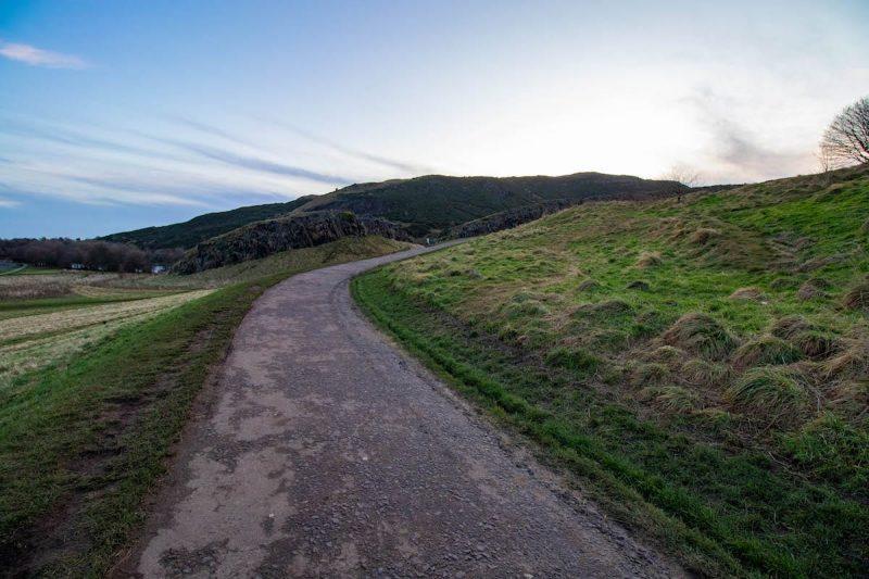 Sentiero Arthur Seat Edimburgo