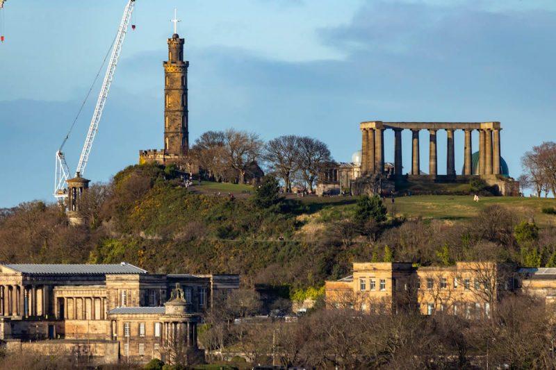 Vista Arthur's Seat Edimburgo