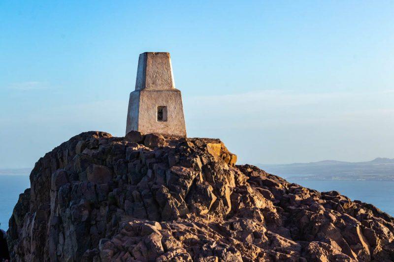Arthur Seat collina Edimburgo