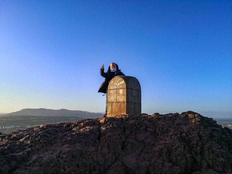 Arthur Seat vulcano Edimburgo