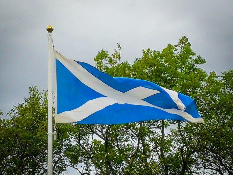 Bandiera scozia simboli scozzesi