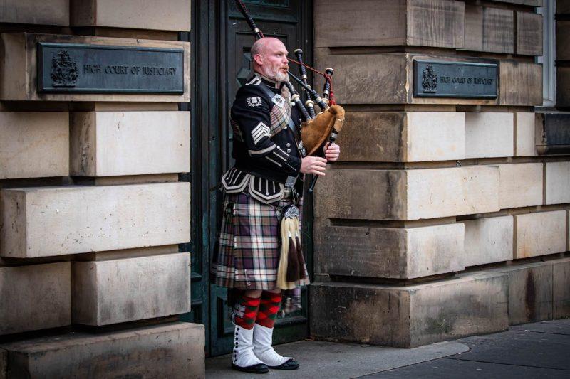 cornamuse simboli icone scozzesi
