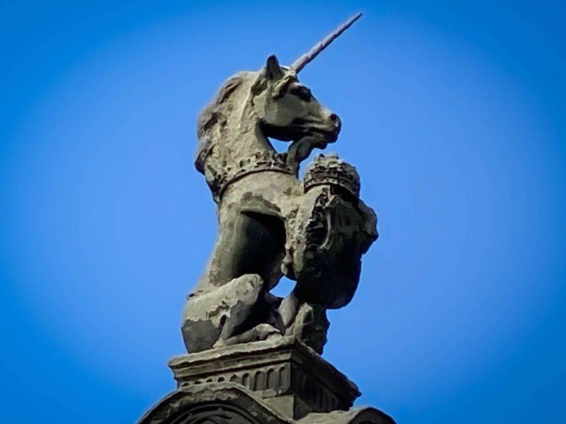 Unicorno simboli Scozia