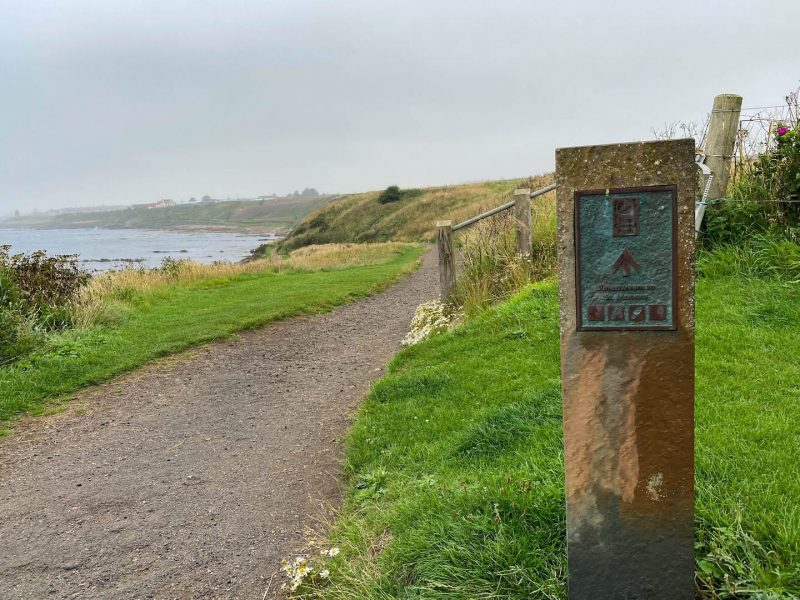 Pittenween Fife Coastal path