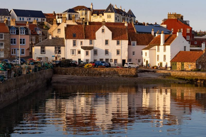 Pittenween harbour fife