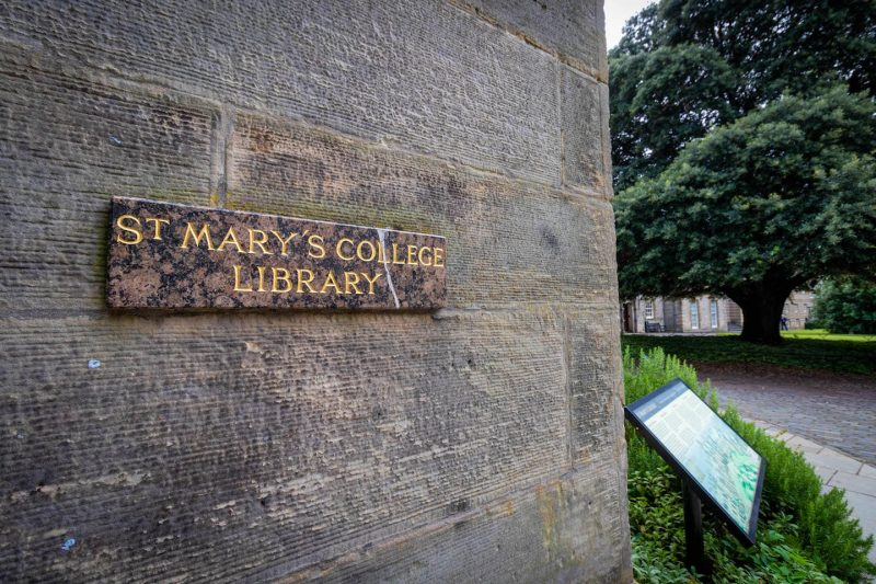 St Mary's College Library