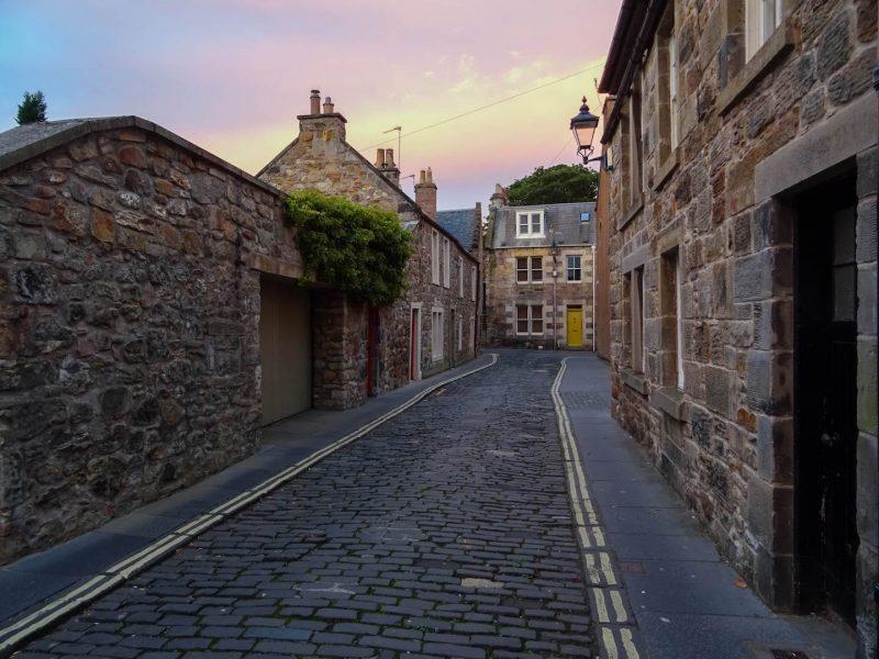 St Andrews itinerario